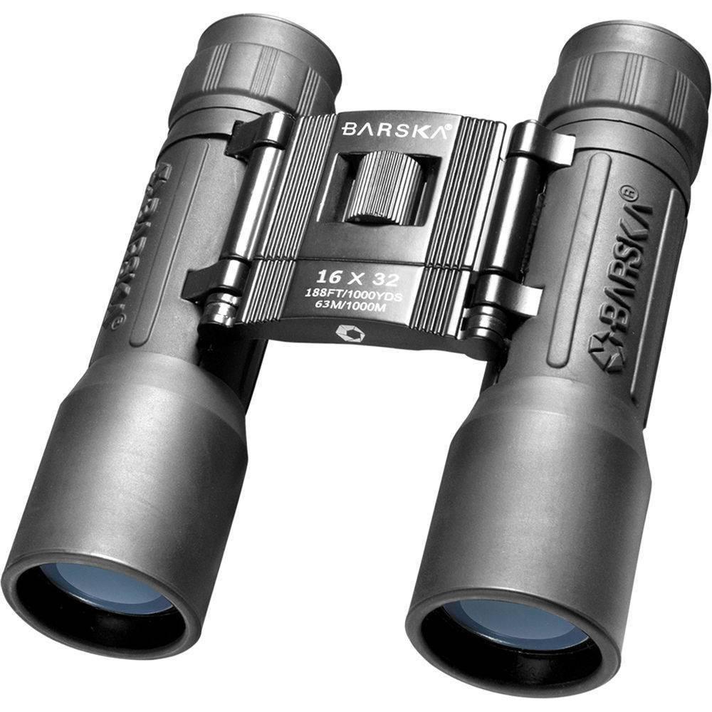 Barska 16x32mm Binoculars Clam Lucid Blue