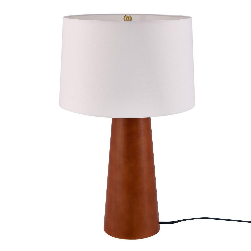 Ingerland Table Lamp Brown (Includes Light Bulb) - Aiden Lane