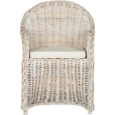 Callista Wicker Club Chair  - Safavieh