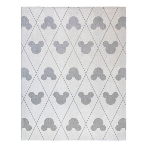Mickey Mouse and Friends Argyle Outdoor Rug - image 1 of 3