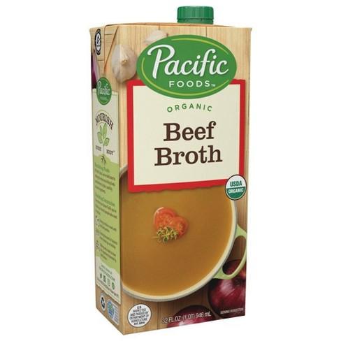 Pacific Foods Organic Beef Broth - 32oz - image 1 of 4