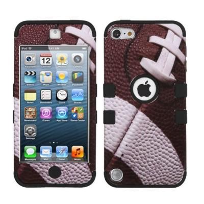 MYBAT For Apple iPod Touch 5th Gen/6th Gen Brown Football Tuff Hard Hybrid Case Cover