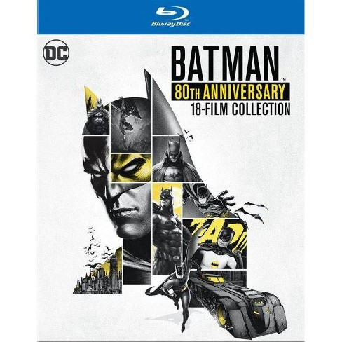 DCU: Batman 80th Anniversary 18-Film Collection (Blu-ray) - image 1 of 1