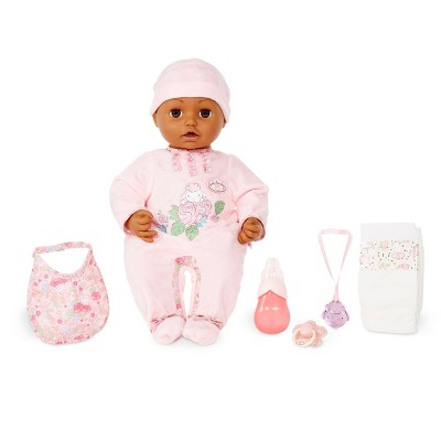 Baby Annabell Soft-Bodied Baby Doll - Brown Eyes