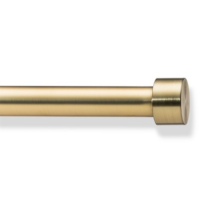 36 -66  Dauntless Curtain Rods Brass - Project 62™
