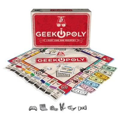 Geek opoly Game