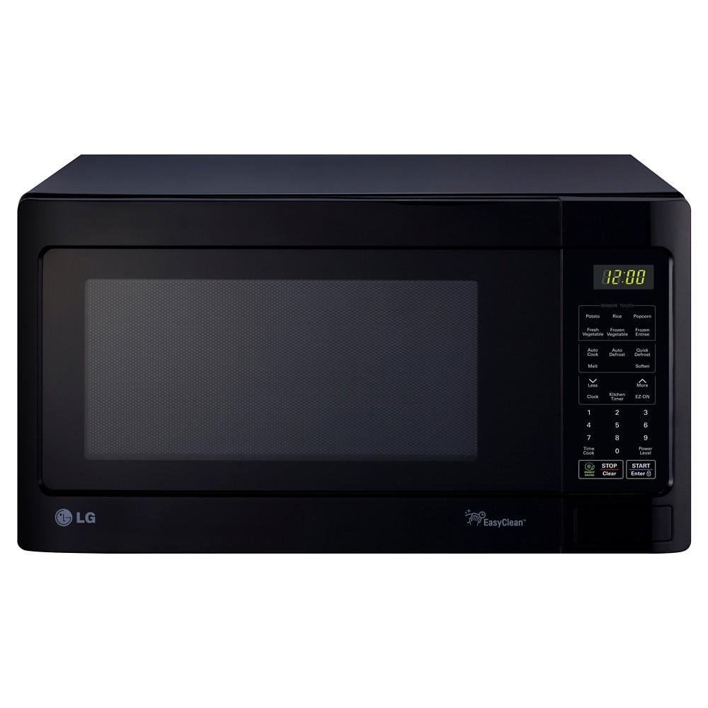 LG 1.5 Cu. Ft. 1100 Watt Microwave Oven - Black LCRT1513SB