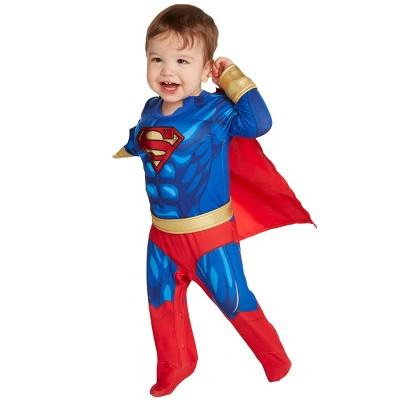 Baby Superman Halloween Costume Bodysuit