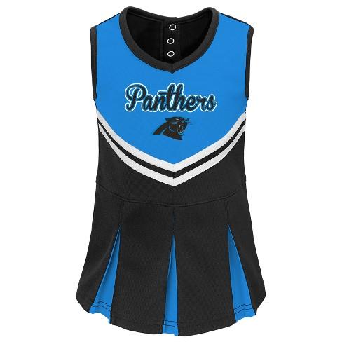 Carolina Panthers Infant-Toddler In The Spirit Cheer Set 4T   Target 48d9f0f65