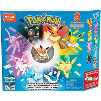 Mega Construx Pokemon Every Eevee Evolution
