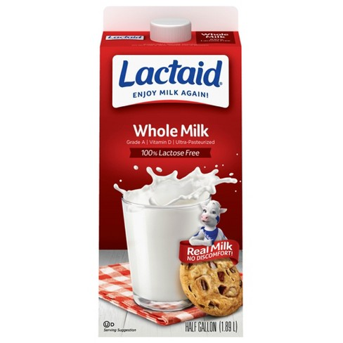 Lactaid Lactose-Free Whole Milk - 0.5gal - image 1 of 1