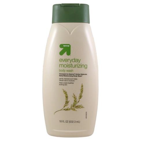 Everyday Moisturizing Body Wash - 18oz - Up&Up™ (Compare to Aveeno Active Naturals Daily Moisturizing Body Wash) - image 1 of 1