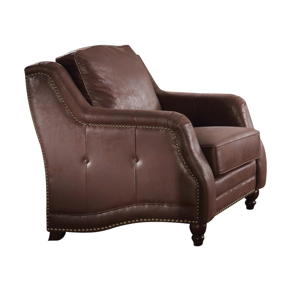 Acme Furniture Nickolas Chair Chocolate Brown