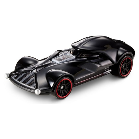 Hot Wheels Star Wars: The Last Jedi - Darth Vader Character Car Vehicle - image 1 of 4