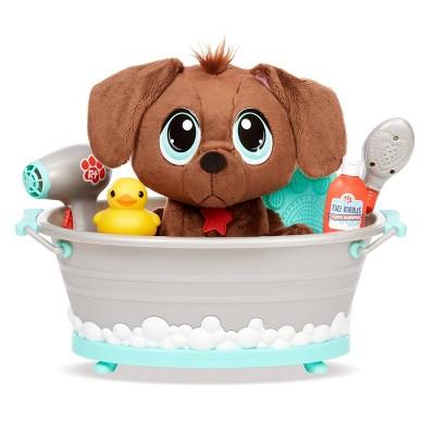 Little Tikes Rescue Tales Scrub 'n Groom Bathtub Playset w/ Chocolate Lab Plush Pet Toy