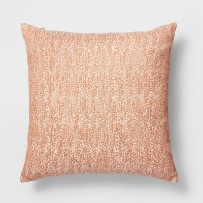 Oversized Square Woven Pillow Orange - Project 62™