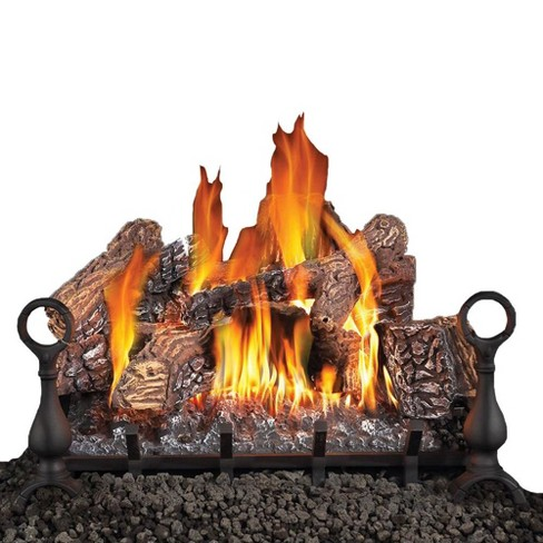 Napoleon Fiberglow 18 Inch Vented Log Set Insert For Natural Gas