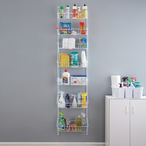 Easy Move Adjule Basket Organizer Closetmaid