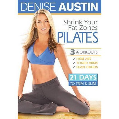 Denise Austin: Shrink Your Fat Zones Pilates (DVD)(2010)