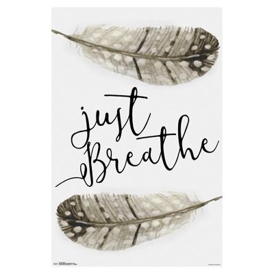 Just Breathe Poster 34x22 - Trends International