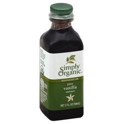 Simply Organic Madagascar Vanilla Extract - 2 fl oz