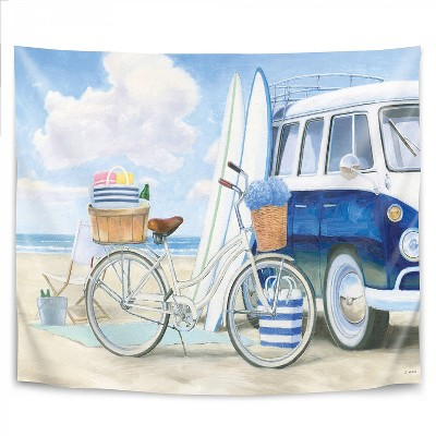 Americanflat Beach Time I by James Wiens Wall Tapestry