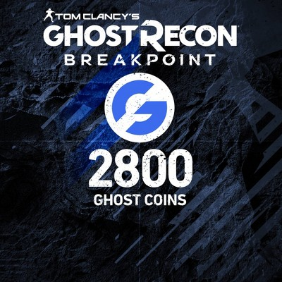 Tom Clancy's Ghost Recon Breakpoint : 2800 Ghost Coins - PlayStation 4 (Digital)