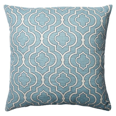 Blue Donetta Throw Pillow 18 x18  - Pillow Perfect®