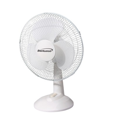 Brentwood Kool Zone Oscillating Desk Fan