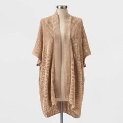 Women's Lightweight Knit Kimono- Universal Thread™ Tan