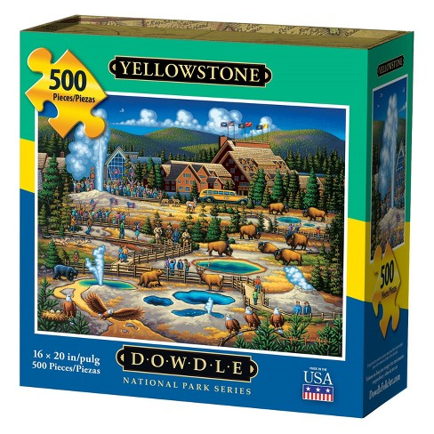 Dowdle Jigsaw Puzzle - Yellowstone National Park - 500pc - image 1 of 4