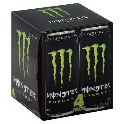 Monster Energy, Original - 4pk/16 fl oz Cans