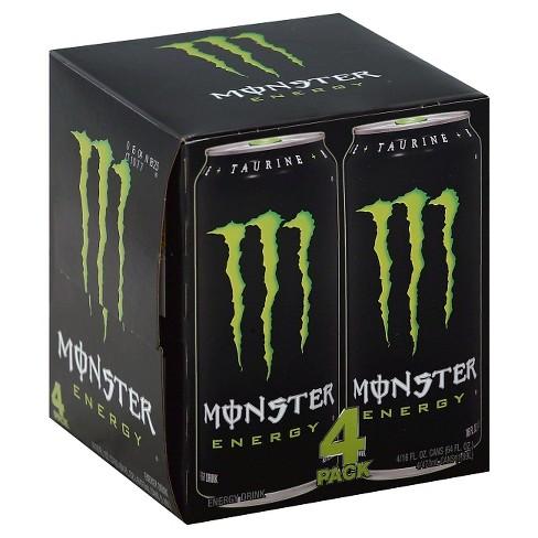 monster energy original 4pk 16 fl oz cans target