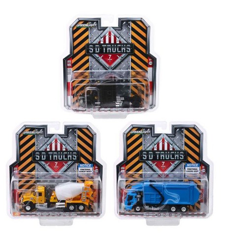 "2019 Mack Trucks ""S.D. Trucks"" Series 7, Set of 3 pieces 1/64 Diecast Models by Greenlight - image 1 of 2"