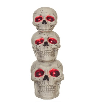 Halloween Animated Skull Totem - Hyde and Eek! Boutique™