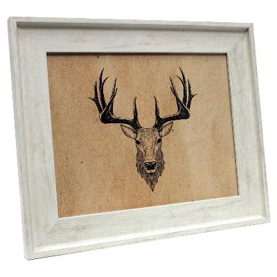 8 x10  Ivory Wood Tone Frame