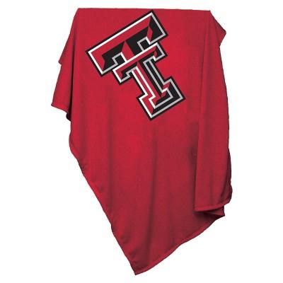 NCAA Logo Brands Sweatshirt Blanket