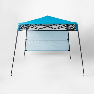 Go Easy 7' x 7' Portable Sun Shelter with Half Wall - Sun Squad™