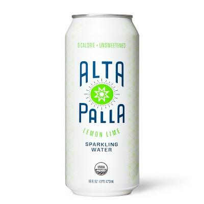 Alta Palla Organic Lemon Lime Sparkling Water 16oz