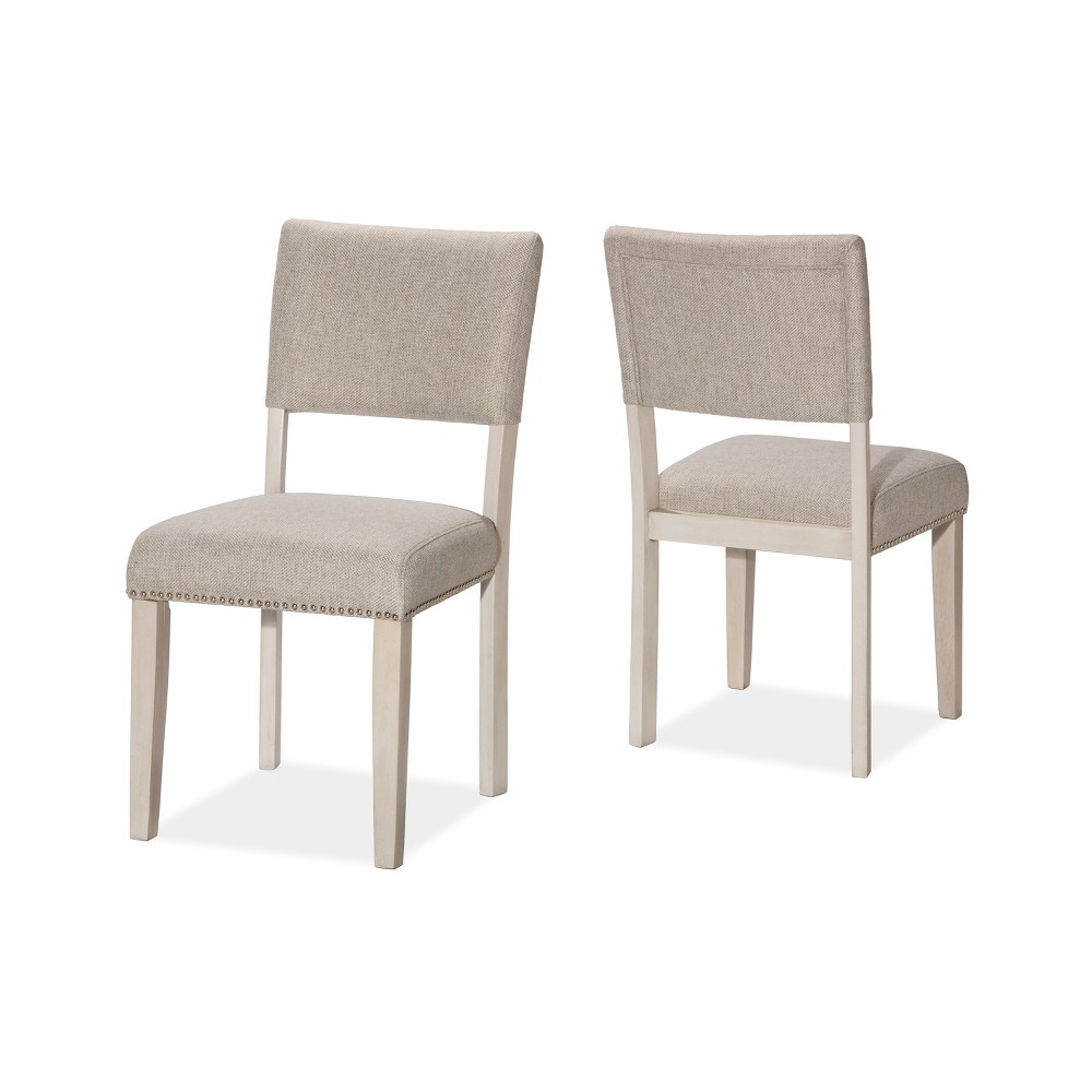 Set Of 2 Elder Park Dining Chairs White Sands - Hillsdale Furniture