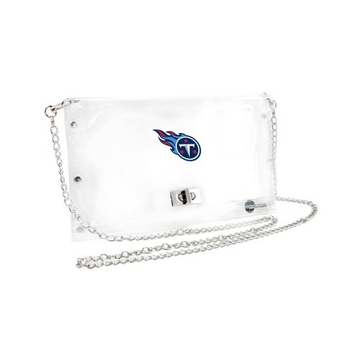 NFL Tennessee Titans Clear Envelope Purse - image 1 of 1