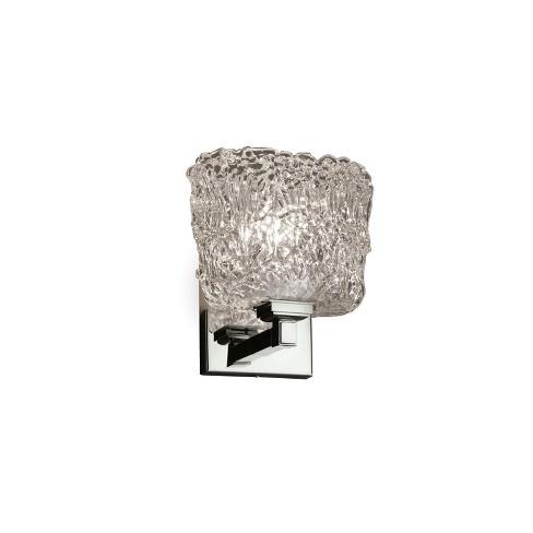 "Justice Design Group GLA-8431-30-LACE-LED1-700 Veneto Luce 6.5"" Regency 1 Light LED Wall Sconce - image 1 of 2"