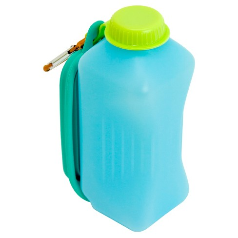 Pet Water Bottle - Turquoise - 25oz - Boots & Barkley™ - image 1 of 3