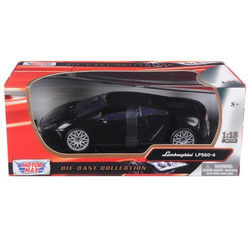 Lamborghini LP 560-4 Black 1/18 Diecast Car Model by Motormax - image 1 of 1