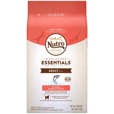 Nutro Adult Salmon Dry Cat Food - image 1 of 4