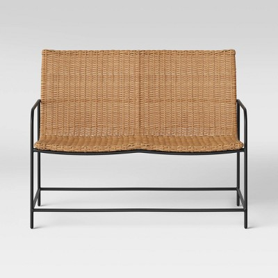 Wexler Wicker Patio Loveseat Set - Natural - Project 62™