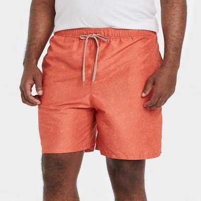 "Men's 7"" Swim Trunks - Goodfellow & Co™ Rust"