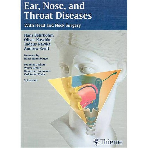 Ear, Nose and Throat Diseases - 3 Edition (Paperback) - image 1 of 1