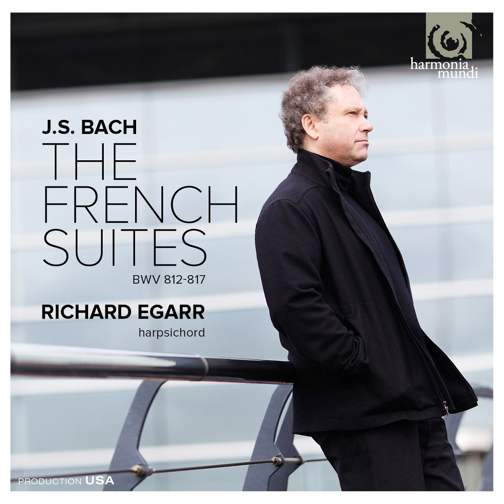 Richard Egarr - Bach:6 French Suites (CD)