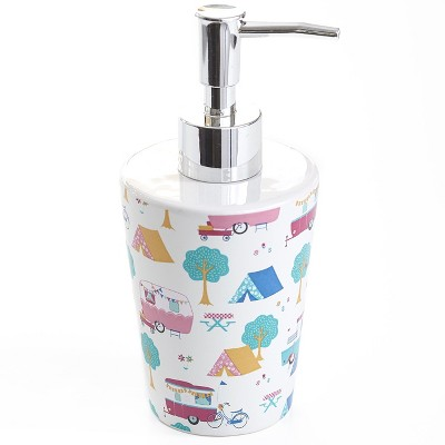 Lakeside Glamper Lifestyle Soap or Lotion Mechanical Hand Pump Dispenser